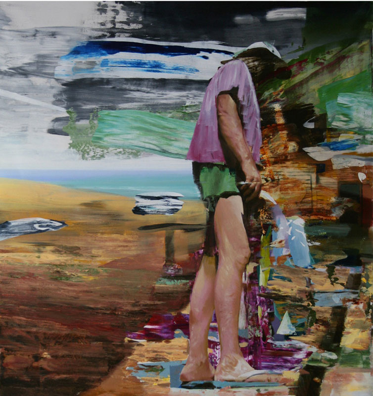 Untitled 2011 acrylic on canvas 120x140cm